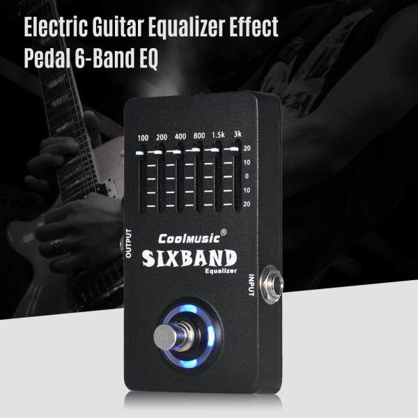 【Hot Sale】Electric Guitar Equalizer Effect Pedal 6-Band EQ Full Metal Shell True Bypass Malaysia