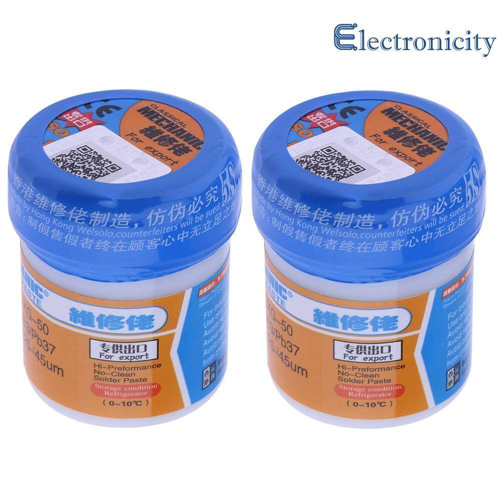 2pcs Mechanic Solder Welding Paste Flux XG - 50 BGA SMT Soldering Malaysia