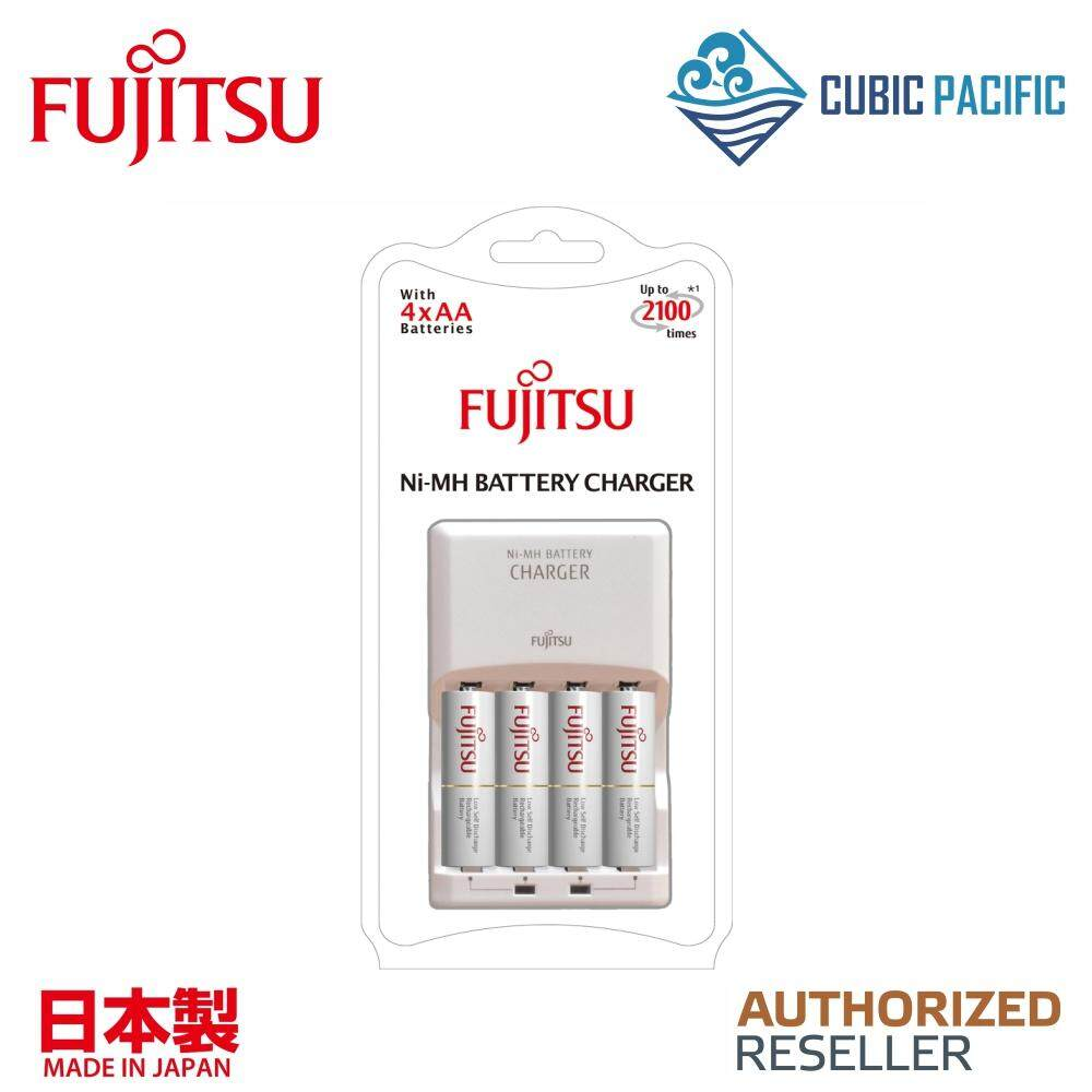 Fujitsu 8HR Basic Charger With 4 Cells Standard AA Rechargeable Battery Malaysia