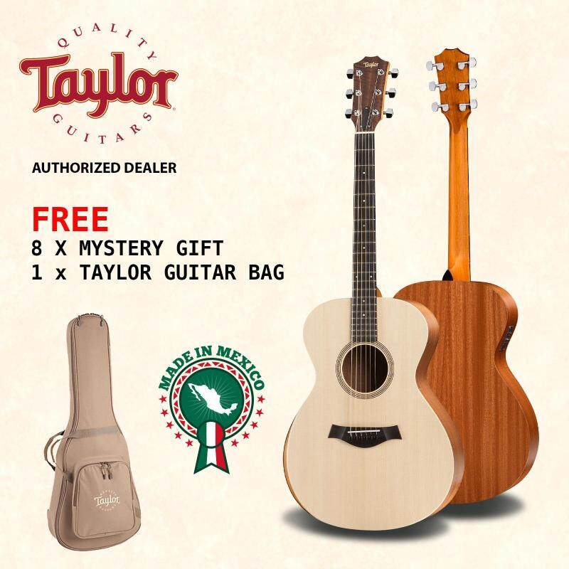 TAYLOR Acoustic Guitar Academy 12E with Pickup + FREE Taylor Guitar Bag + FREE 8 Mystery Gifts Malaysia