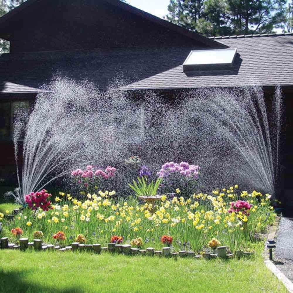 Stay Professional 360 Degree Rotatable Flexible Automatic Lawn Garden Water Spraying Nozzle Sprinkler Plants Watering Tools