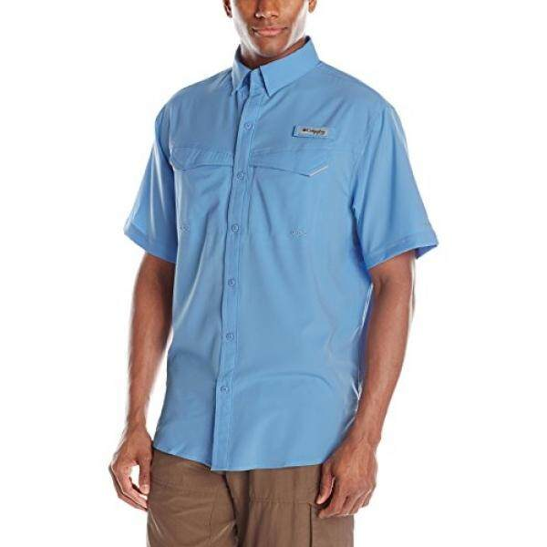 723b3901c49 Columbia Mens Low Drag Offshore Short Sleeve Shirt, White Cap,