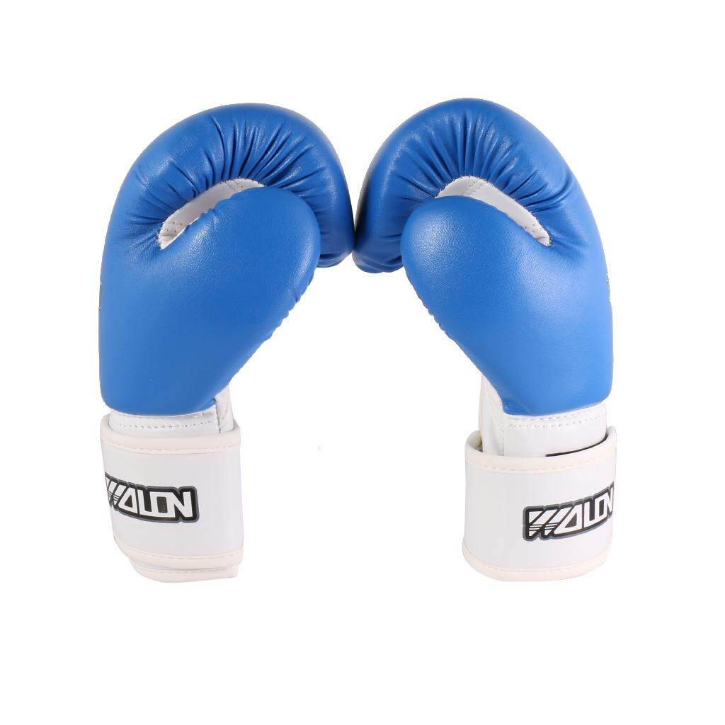 Miracle Shining Kids Boxing Gloves Muay Thai Mma Sparring Punching Training Fight Bag Blue By Miracle Shining.