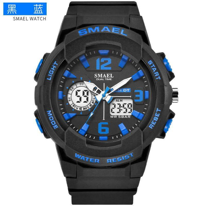 a6aeb3f8fa9 Smael Watch New Genuine Fashion Sports Multi-function Electronic Watch  Lovers Pop Men and Women