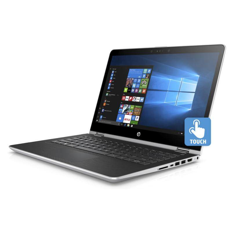 HP Pavilion x360 14-ba063tx 14 (TOUCH SCREEN) Notebook (INTEL I3-7100U, 4GB, 500GB, 940MX 2GB, WIN 10) Malaysia