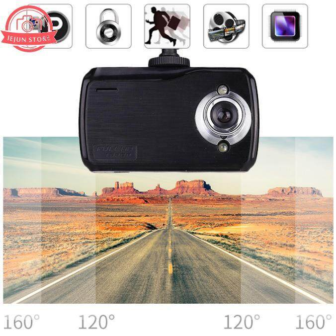 2.4 Inches Car DVR HD Night Vision Dash Cam 2.7MP Video Recorder T9 DC 5V Black