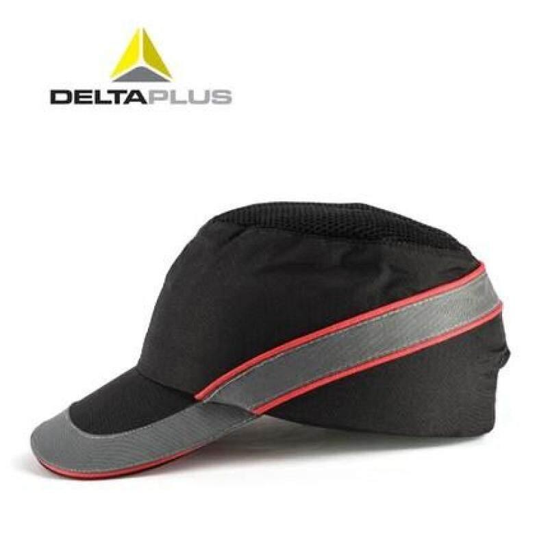 Deltaplus Baseball Cap Style Impact Resistance Light Safety Helmet Construction Site Cap Brim Hat Breathable Schick Multi-color