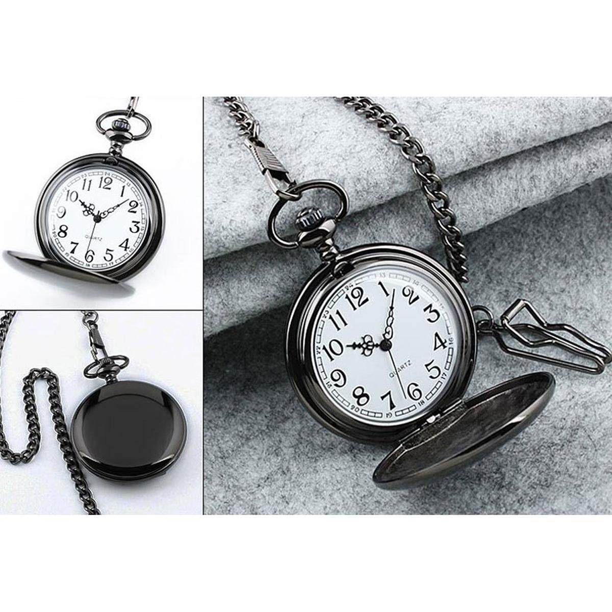 Mens Branded Watches With Best Price In Malaysia Bulova 90271 Jam Tangan Pria Silver Blank Stainless Steel Case White Dial Arabic Numeral Pocket Watch Chain Gift Box