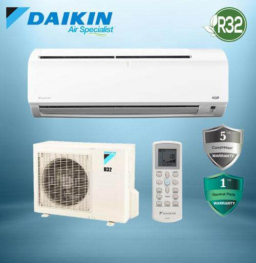 (NEW) DAIKIN 2.5HP R32 AIR CONDITIONERS FTV-P SERIES FTV60PV1L/RV60CV1P
