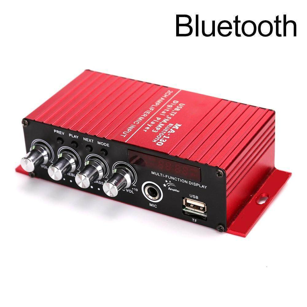 Automotive Amplifiers Buy At Best Price In Car Stereo Kit 800w Sub 500w 2 Channel Amplifier Capacitor Wiring Niceeshop Mini Bluetooth 42 Digital 20w Hifi Amp Super Bass With Blue Led