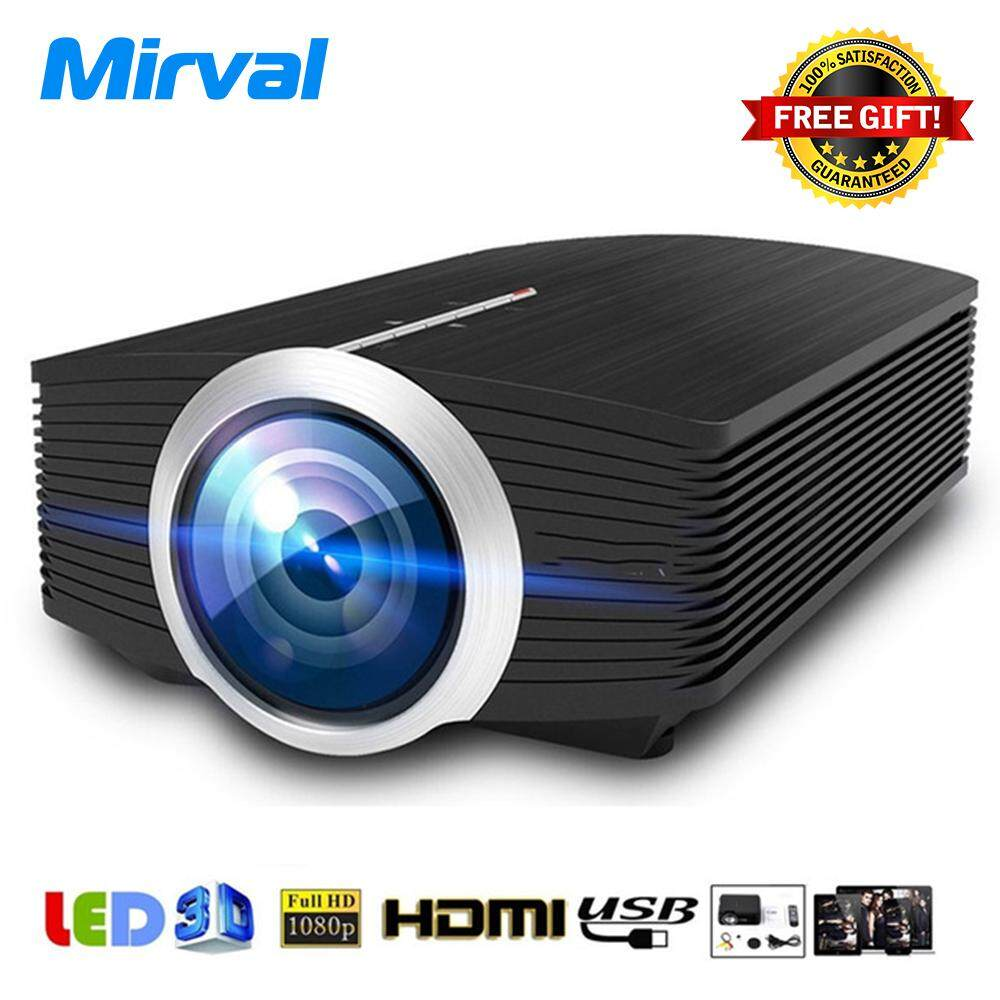 Projectors Screen With Best Online Price In Malaysia Proyektor Unic Uc40 Led Mini Mirval Yg500 Portable Lcd Projector 1080p 1500 Lumens For Home Cinema Support Hdmi Av Vga