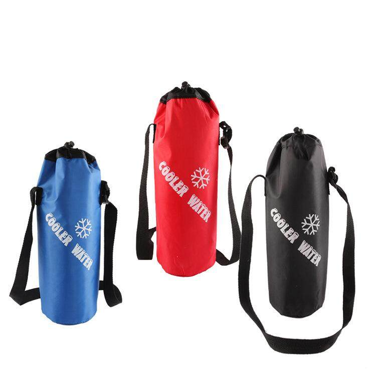 Szwl Universal Drawstring Water Bottle Pouch High Capacity Insulated Cooler Bag For Traveling, Camping, Hiking By Szwl Trade.