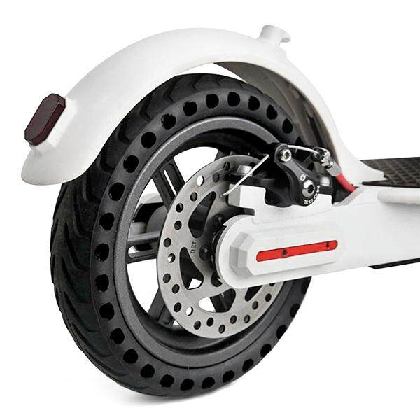 Rubber Solid Rear Tire With Hollow Design For Xiaomi M365 Electric Scooter By Express Mart.