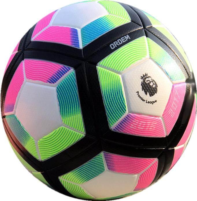 Bola Sepak Football PU Anti Slip Soccer Match Training Size 5 Ball