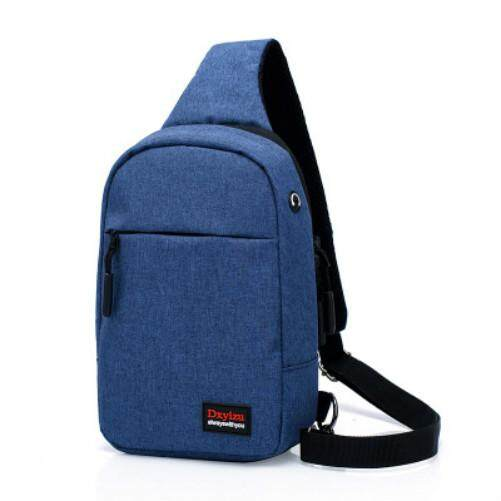 1d798621e689 New Canvas Men Chest Bag Casual Men and Women Crossbody Bag Small Bag  Korean Version of