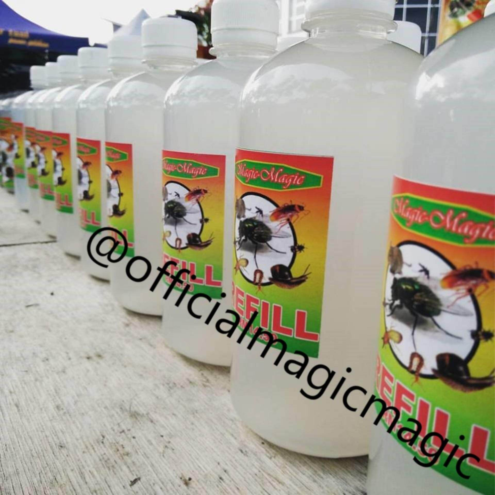 Magic Buy At Best Price In Malaysia 1 Box Tissue Pest Control Organic Anti Insects Repellent Spray 500ml X 5 Units25
