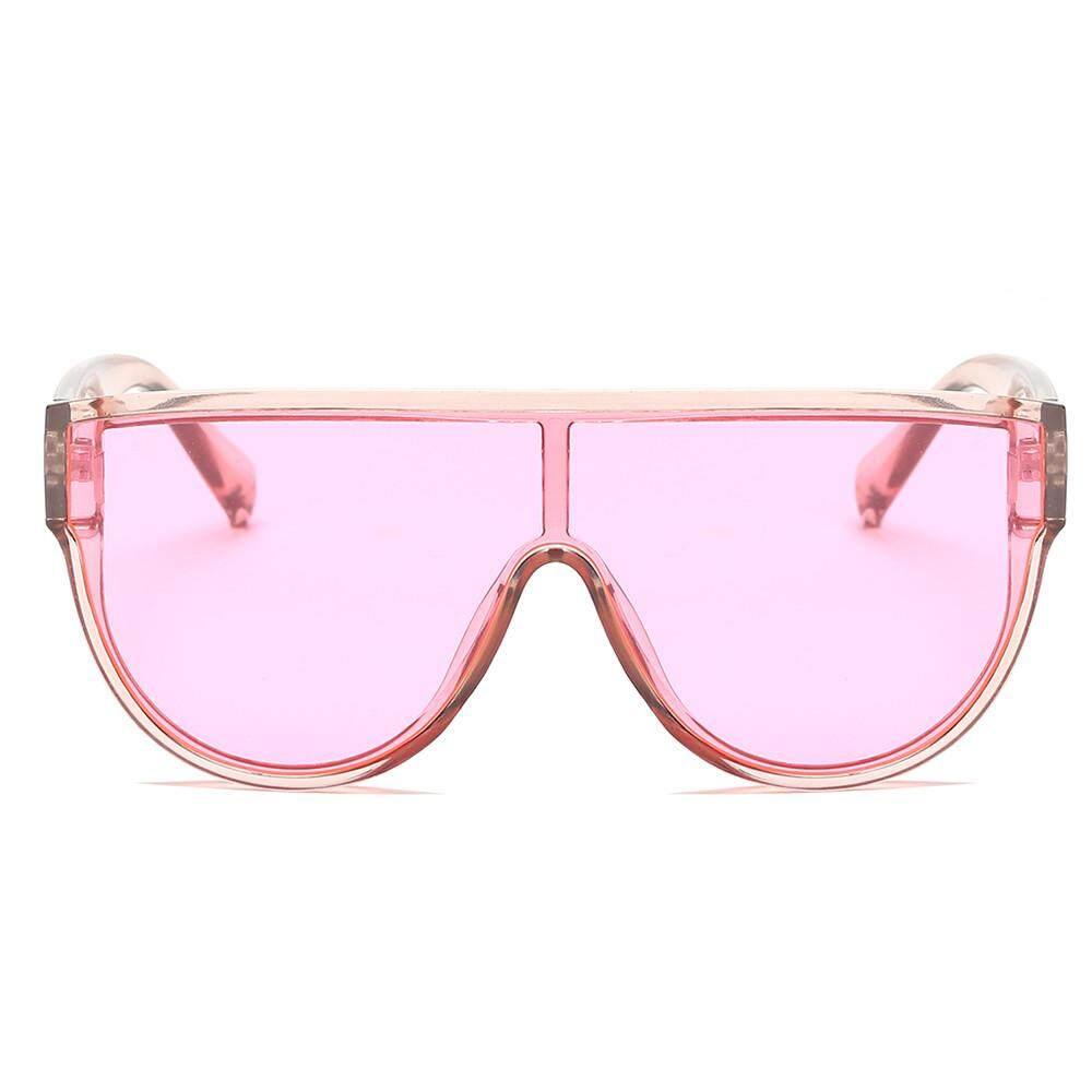 12c4ef832ee0f Women Fashion Unisex Large Frame Shades Sunglasses Integrated UV Glasses