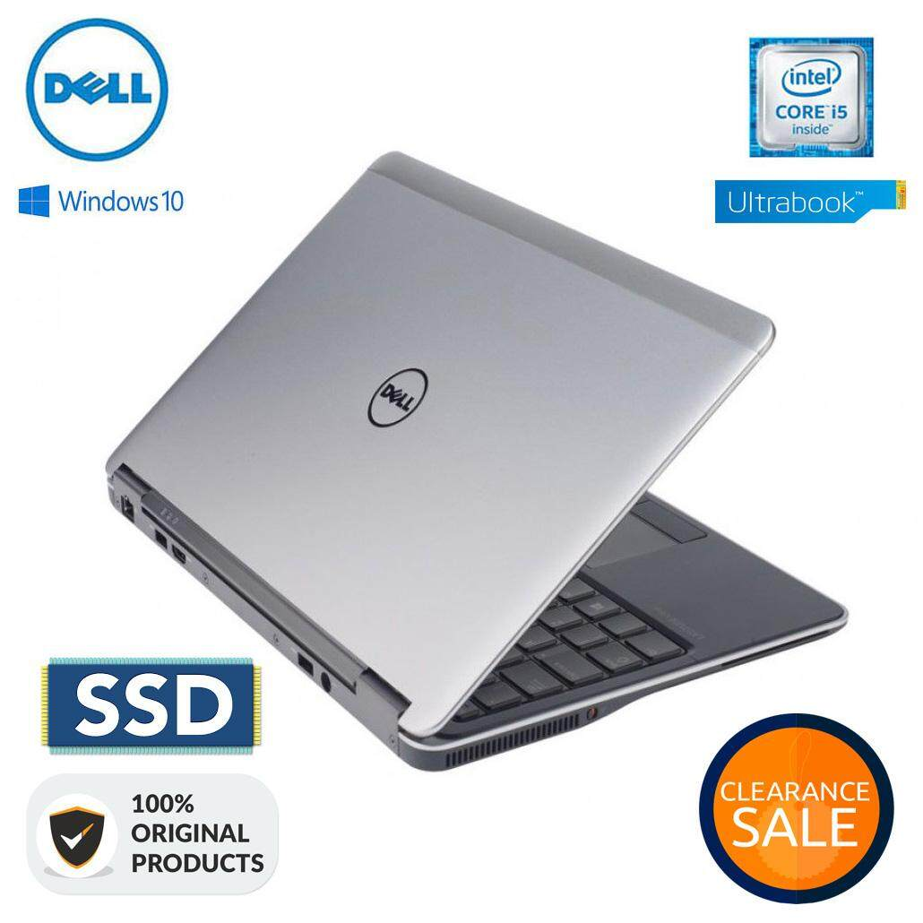 DELL LATITUDE E7440 ULTRABOOK CORE I5  8GB RAM  256GB SSD [1 YEAR WARRANTY] Malaysia