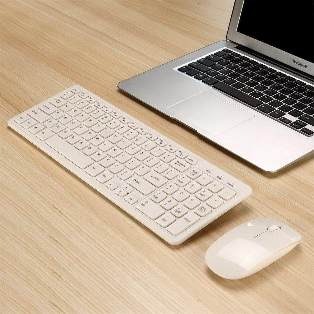 Best Sellers Simple Ultra-Slim Black USB Mini Wireless Keyboard and Mouse Combo Kit Malaysia