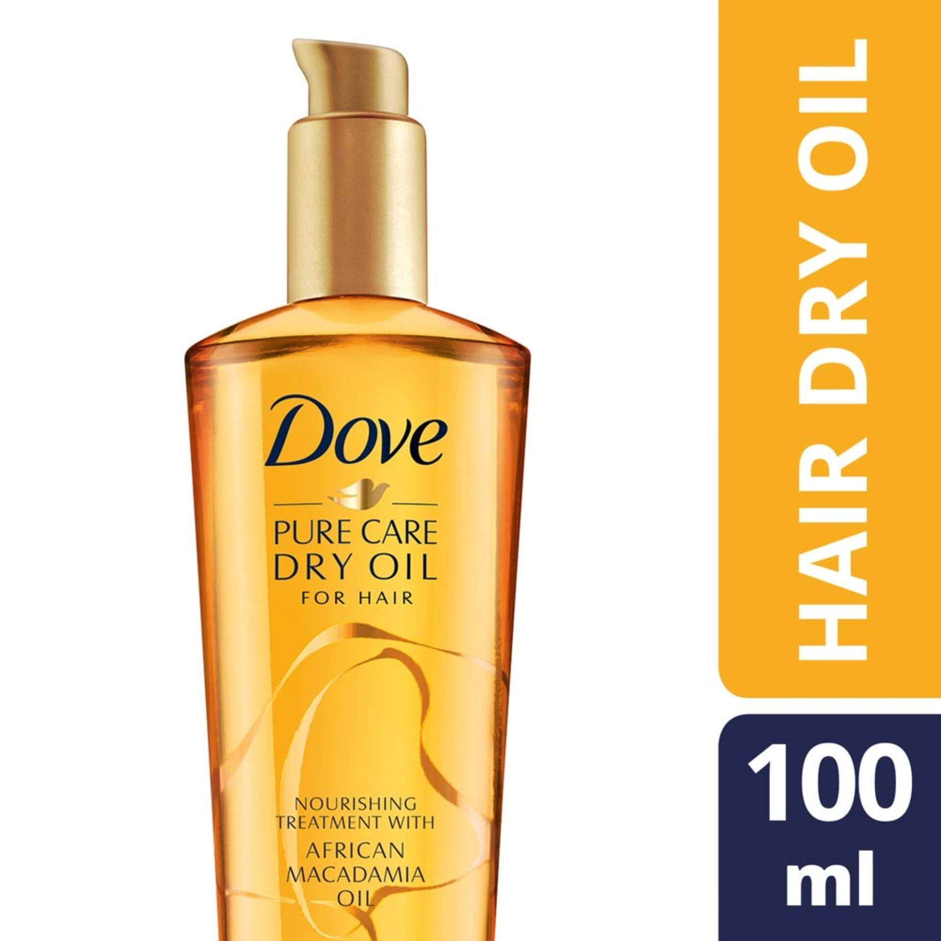 Dove Health Beauty Hair Care Price In Malaysia Best Shampoo Total Damage Treatment 320 Ml Advance Series Pure Dry Oil Leave On 100ml