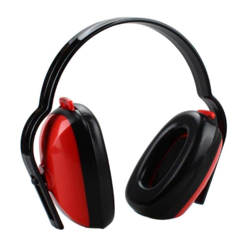 3M 1426 Earmuffs For Shooting Aviation Travel, Noise Reduction Anti-noise Comfortable Protective Headband Earmuffs Black + Red