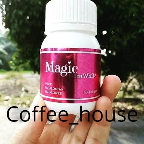 [pre Order] Magic Slim White 60tablets Exp 2022 By Coffee House.