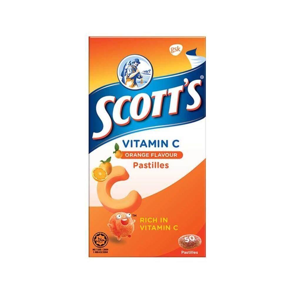 WATSONS SCOTTS Vitamin C Pastilles Orange Flavour 50s