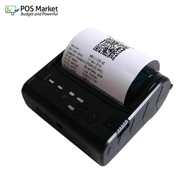[ready Stock] 80mm Bluetooth Thermal Receipt Printer By Bizcloud Asia.