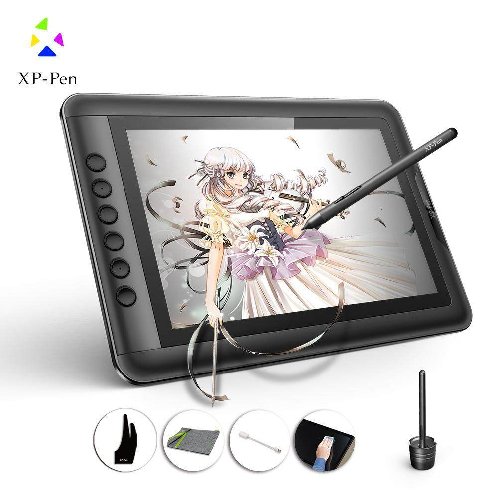 Local Warranty XP-Pen Artist 12 11.6 FHD Drawing Graphics Tablet With High 8192 Levels Of Pressure Sensitivity Malaysia