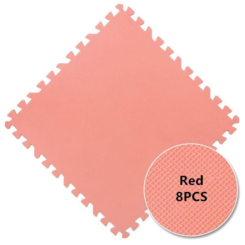 8Pcs 60x60cm Interlocking Foam Floor Mats Puzzle Exercise Mat with EVA Foam Interlocking Tiles Protective Flooring for Gym Equipment and Cushion for Workouts