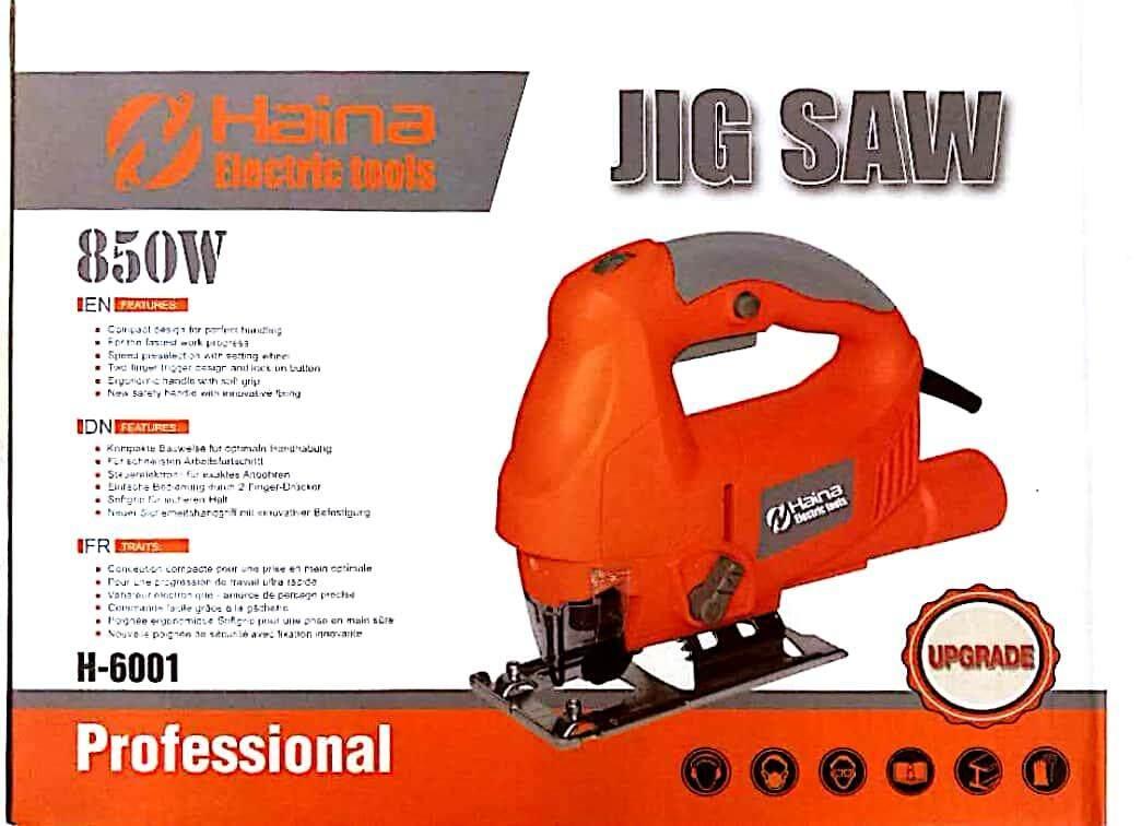 Haina Jig Saw 850w H-6001 By Ck Power Machinery..