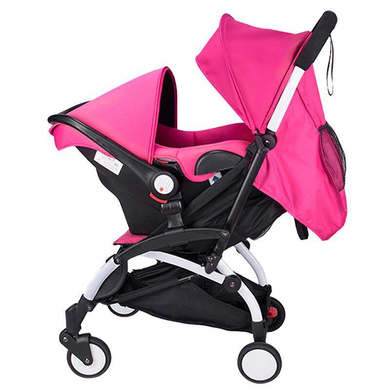 4 In1 Foldable Toddler Pram Baby Stroller Pushchair High View Car Seat Bassinet By Five Star Store.