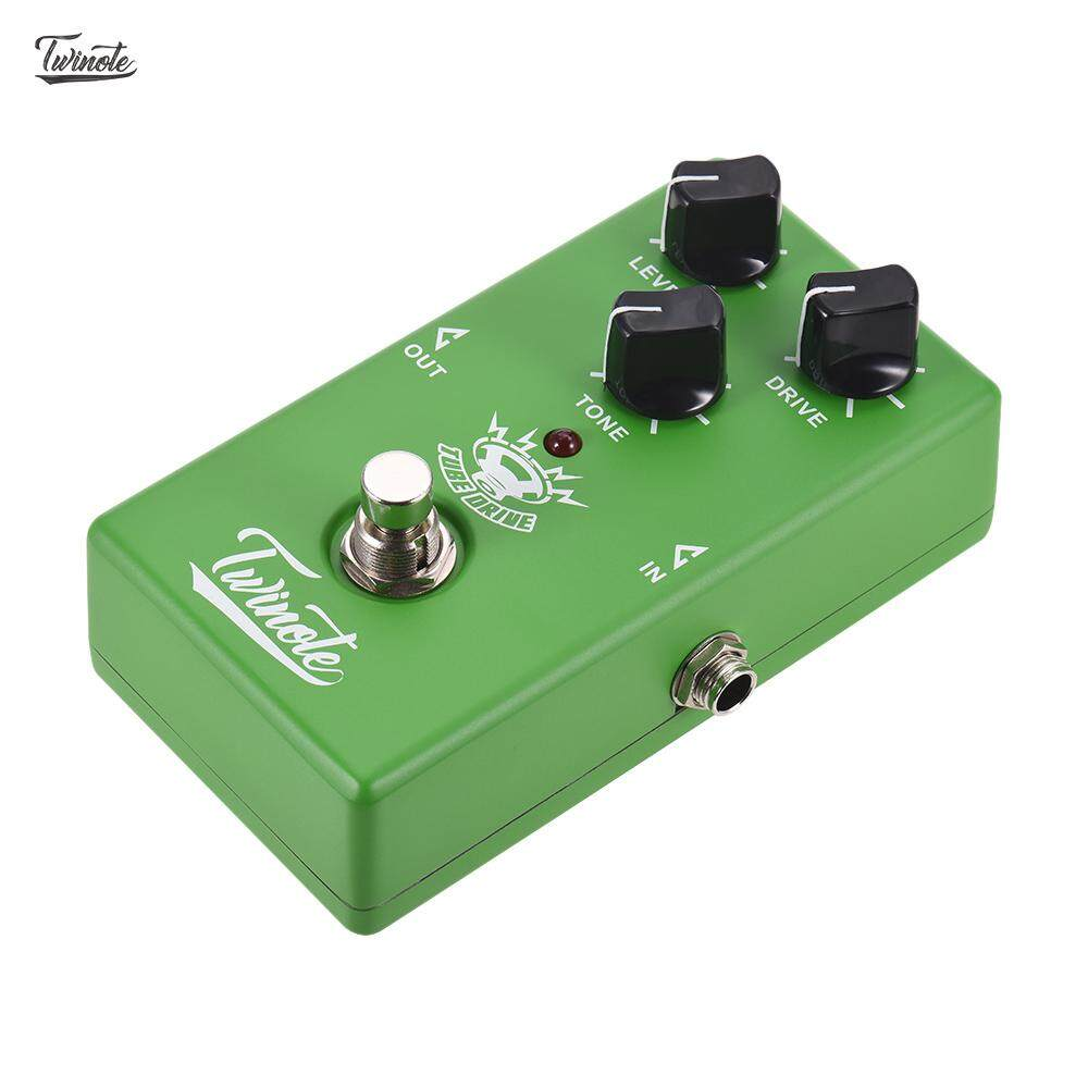 Twinote Tube Drive Analog Overdrive Guitar Effect Pedal Processsor Full Metal Shell With True Bypass By Effect Pedal World.