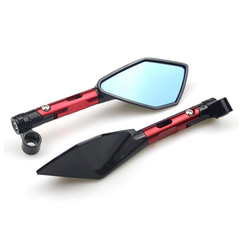 Universal Short Motorcycle Motorbike Moto Cnc Rearview Side Mirror By E-One.