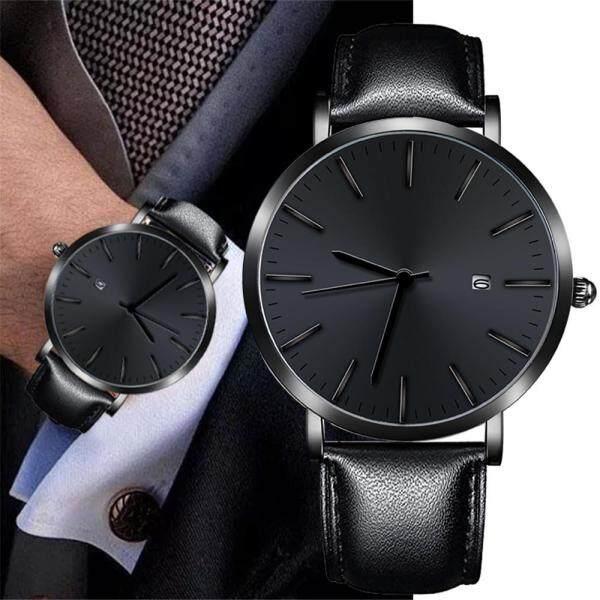 Fashion Men Retro Design Webbing Belt Band Analog Alloy Quartz Wrist Watch Malaysia