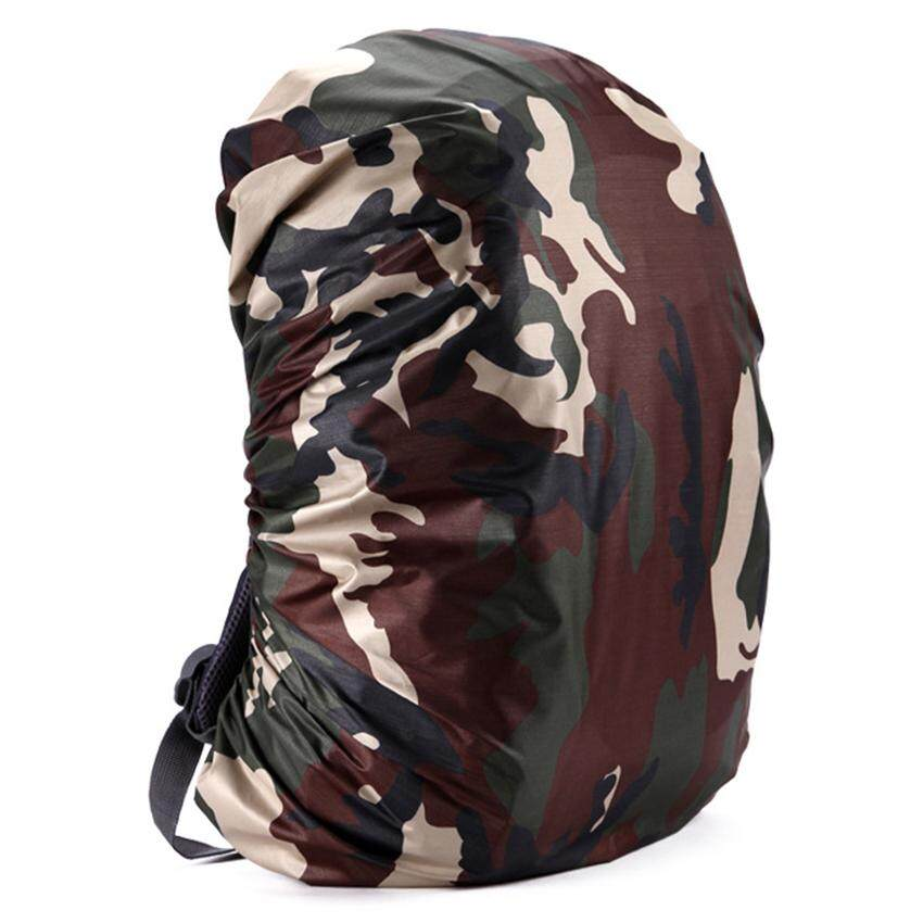 3c22722a8dc4 60L Camouflage Rucksack Rain Dust Waterproof Bag Backpack Covers