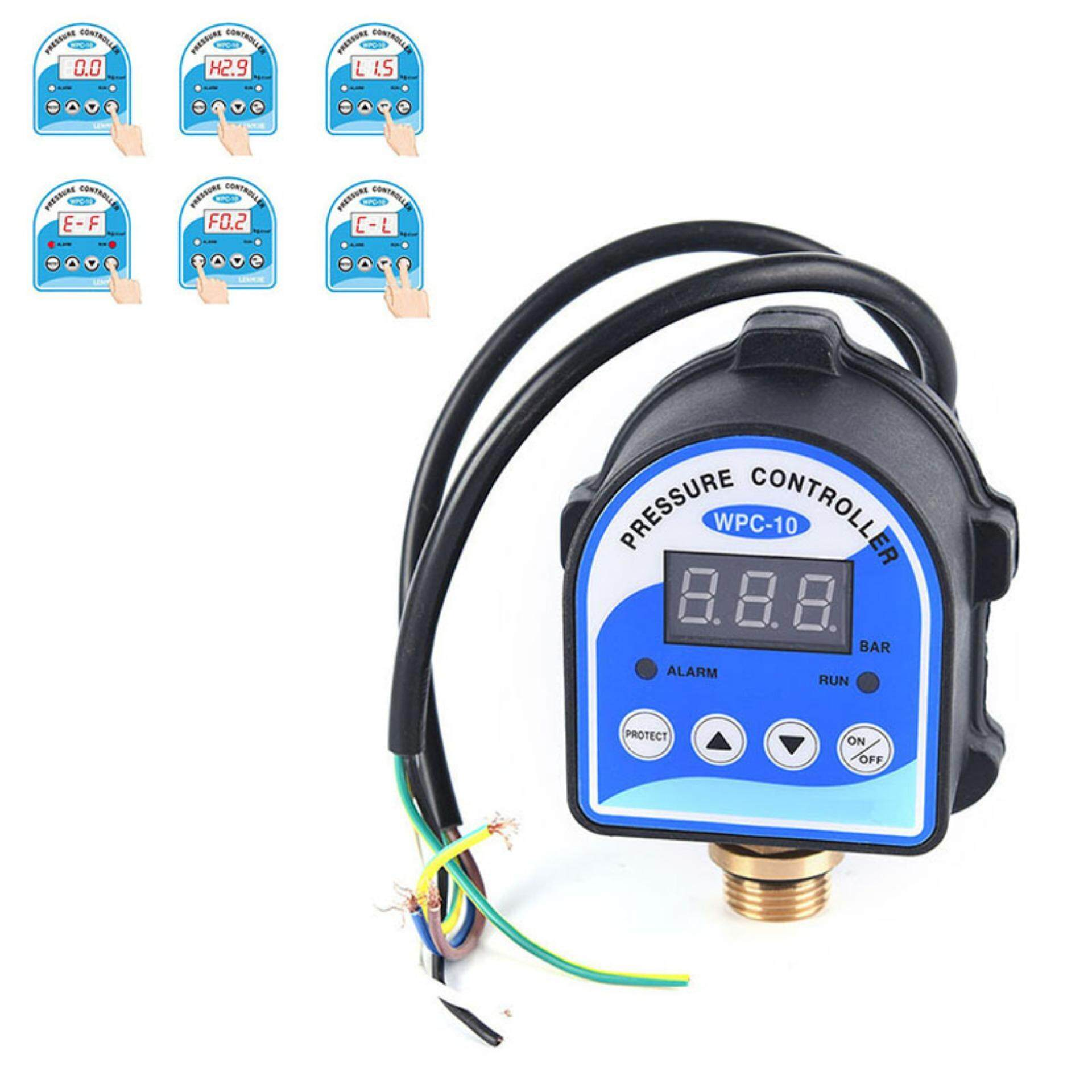 WPC-10 Digital Water Pressure Switch Digital Display for Water Pump