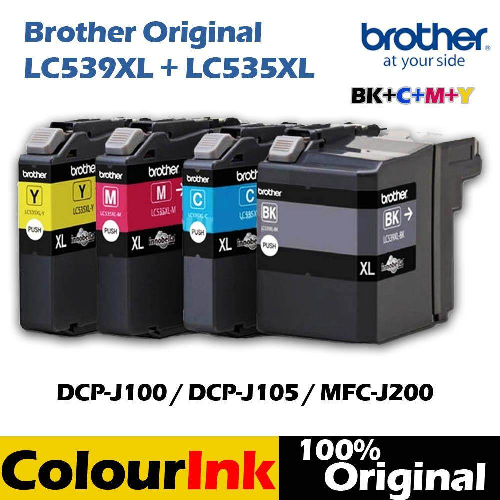 Printers Accessories Buy At Best Price In Tinta Hp 680 Colour Ink Cartridge Original Brother Lc 539xl 535xl Combo Set Bk C M