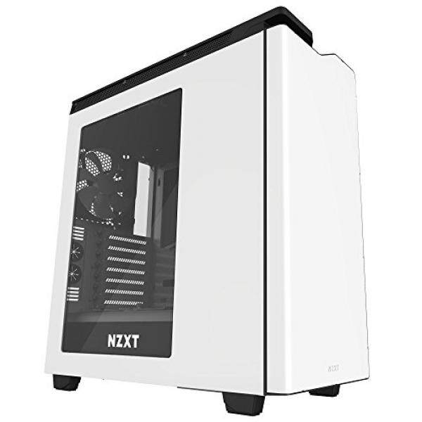 Nzxt H440 Mid Tower Computer Case, White/Black (CA-H442W-W1) Malaysia