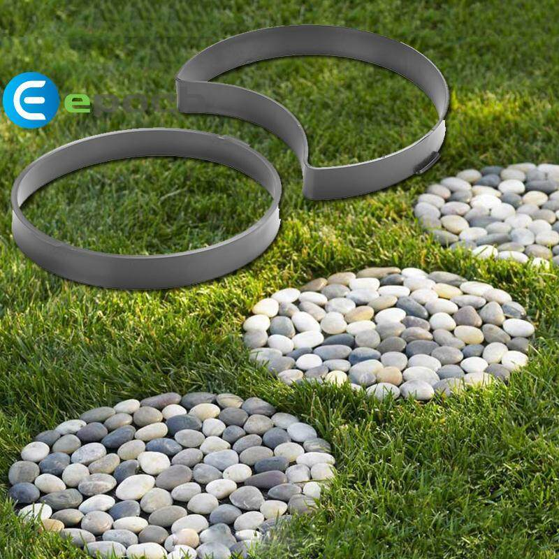 Epoch Cement Brick Molds Beautiful Round Garden 2PCS