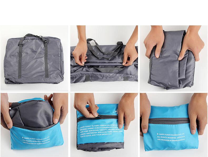 8336c65aa460 Mytools WaterProof Foldable Travel Bag Nylon Folding Unisex Luggage Handbags