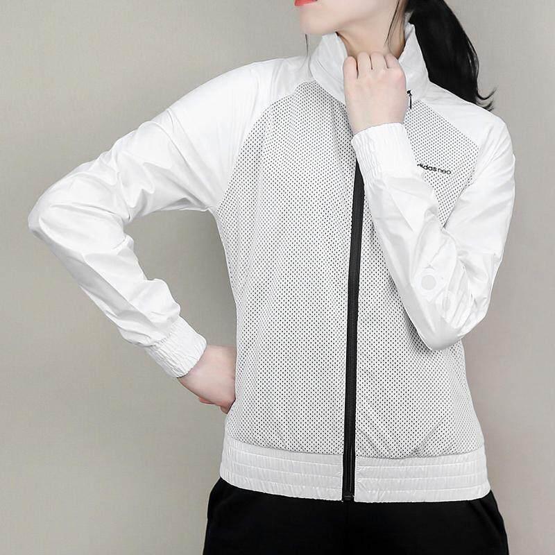 967583c6105b Adidas NEO Coat Women s Dress 2019 Spring New Style Sports Casual Windproof  Jacket BP6380