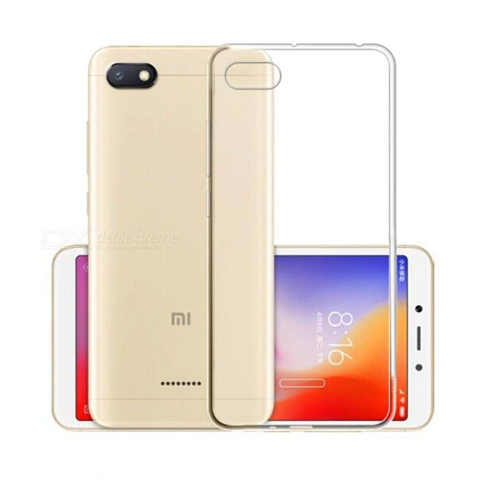 Tpu Silicone Gel Soft Case For Xiaomi Redmi 6a (transparent) By Tradeshoppe.