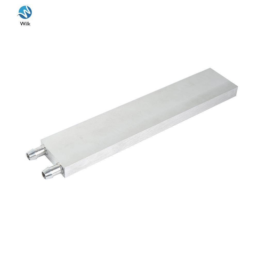Computer Components Liquid Cooling Block 41 x 200 x12mm Aluminium for CPU GPU Silver Mini Water Cooling Heatsink Malaysia