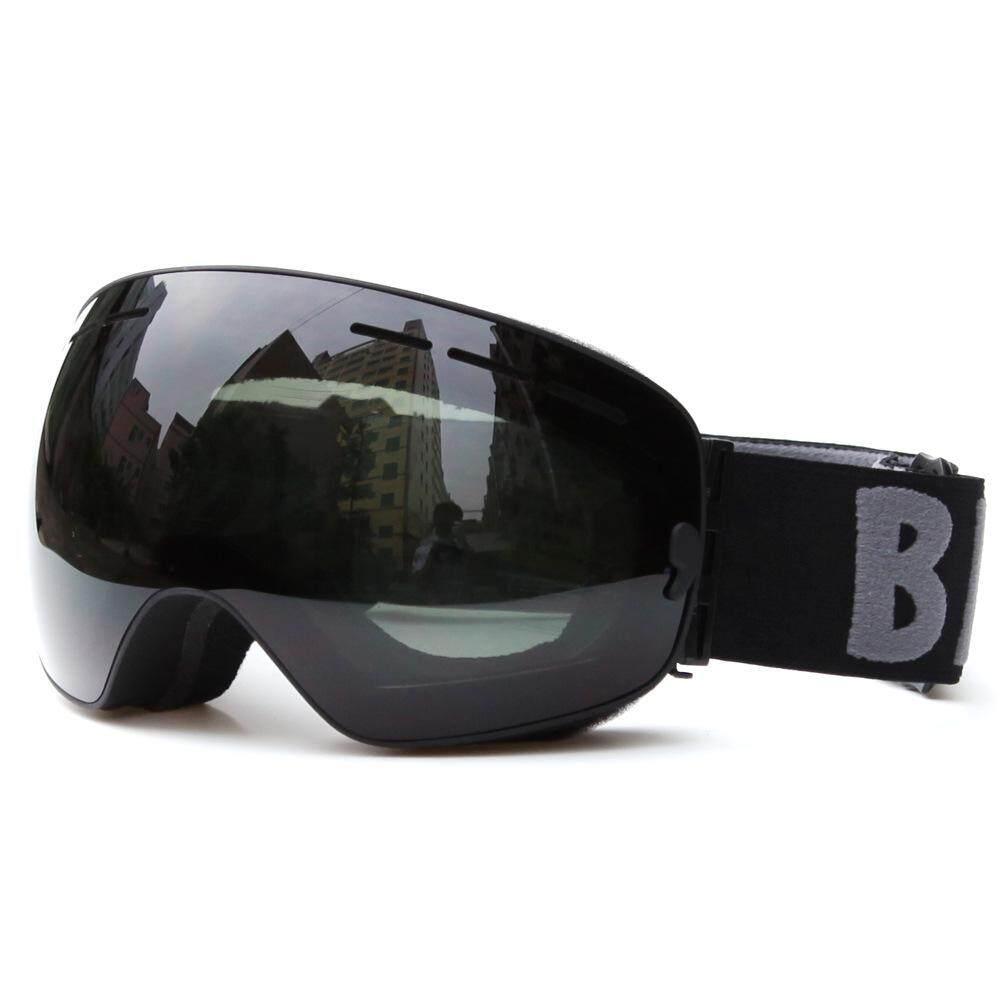 Nice Ski Goggles Fog Than Double Spherical Myopia Glasses Can Be Skiing