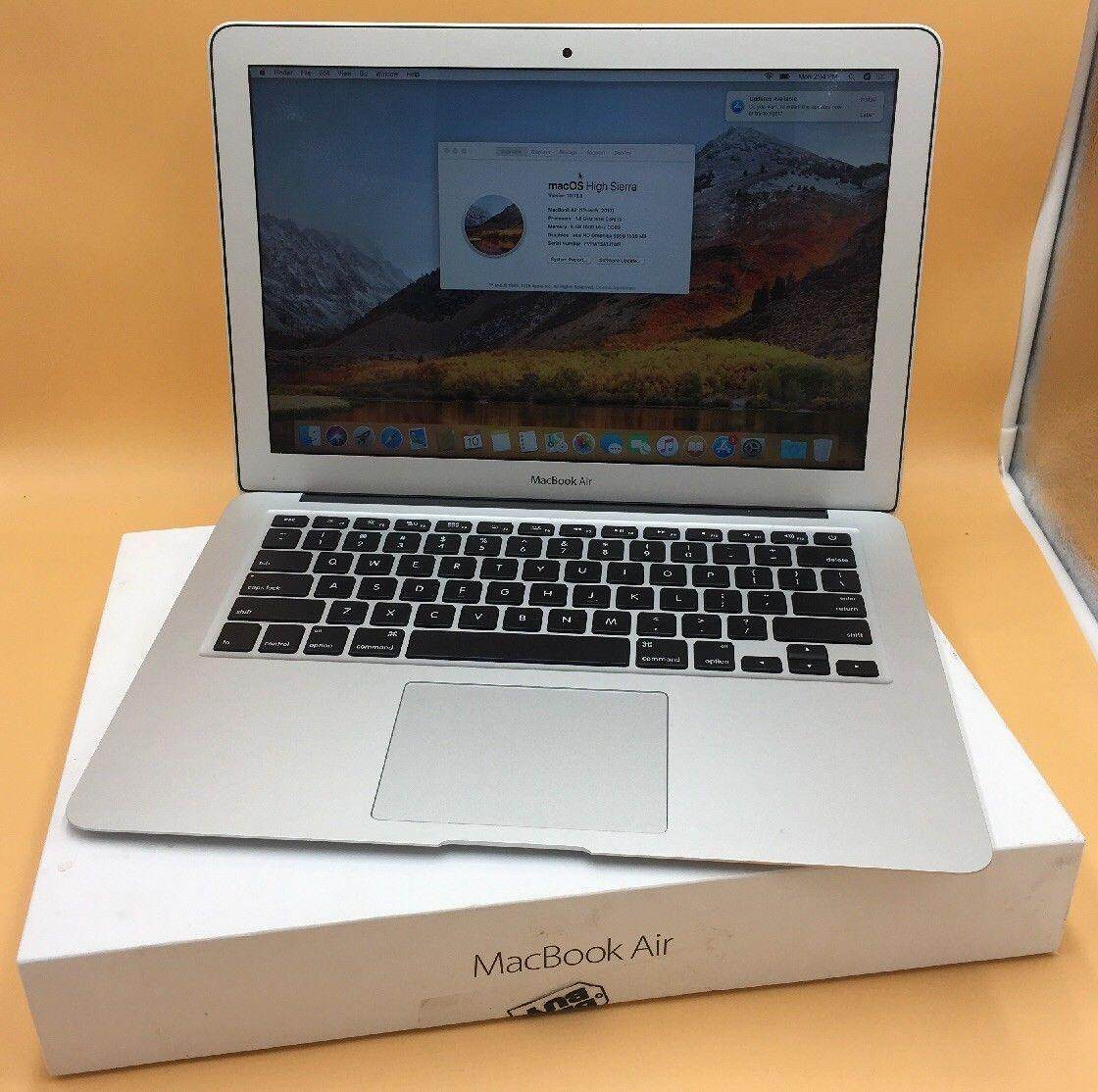 Apple-MacBook Air 13-3-034 Laptop-MQD32LL-A-June 2017 Silver Malaysia