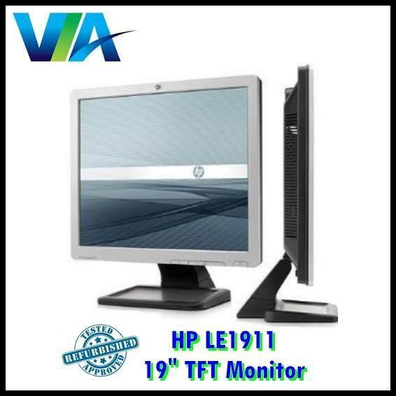 Refurb HP 19 LCD TFT Monitor PC Screen, LE1911 4:3 1280 x 1024 Malaysia