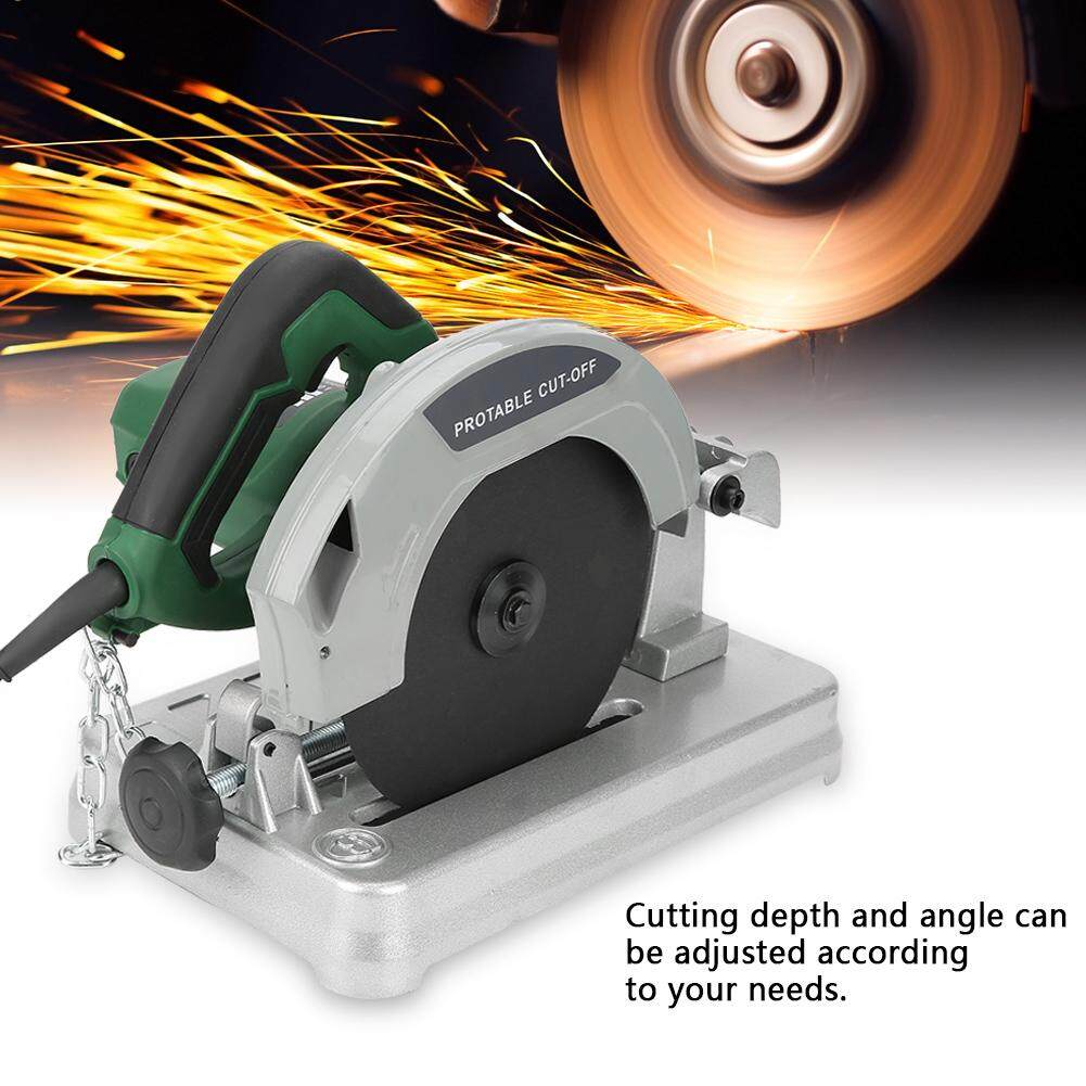 1200w Electric Compound Miter Saw Adjustable Cutting Angle Handheld Tool Au Plug 220v By Qilu.