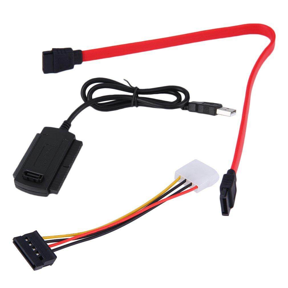 Hot Sales Sata/pata/ide Drive To Usb 2.0 Adapter Converter Cable For 2.5/3.5 Hard Drive By Befubulus.