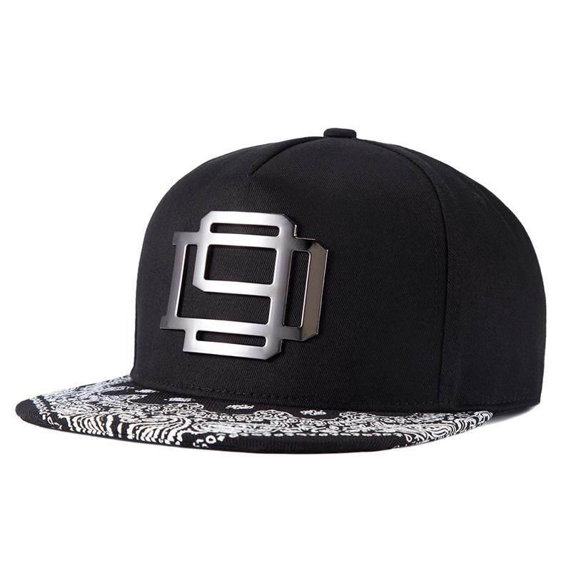 WuKe Hip Hop Cap Snapback Hip Hop Hat Men Basketball hats Hip-Hop Metal Mens ef793cf14b